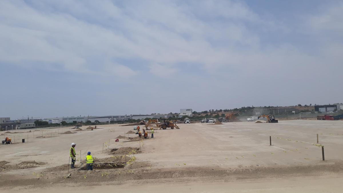 Construcción nuevo almacén en Silao